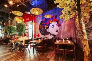 Miami Restaurant Designer Mural