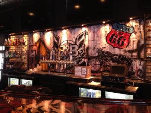 Murals Interior Design Restaurant Miami